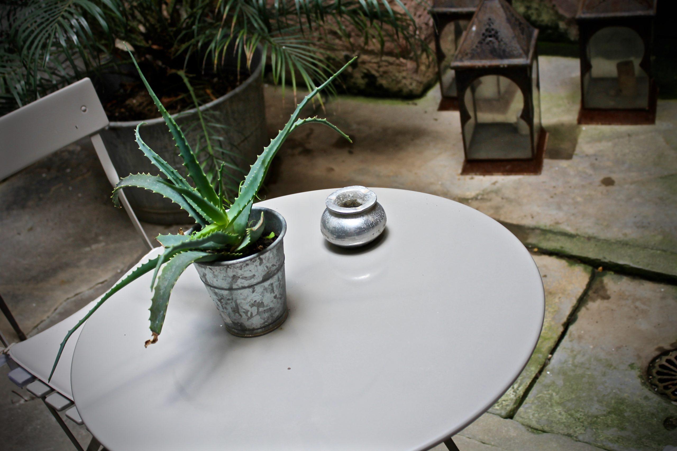 Tavolino Giardino Interno